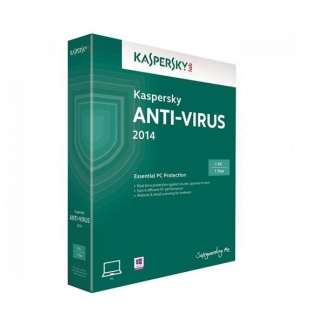 kaspersky anti-virus 2014 1 pc 1 ano